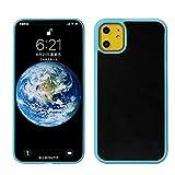 Pluto Case Funda antigravedad para teléfono compatible con iPhone 11 (6,1 pulgadas) 11Pro (5,8 pulgadas) 11Pro Max (6,5 pulgadas) Nano Suction Magic Funda para móvil verde