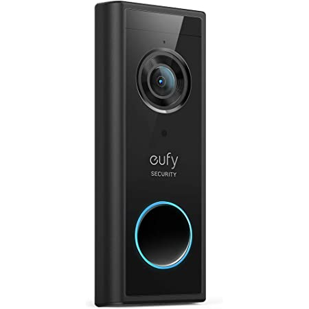 eufy Security, Wireless Add-on Video Doorbell with 2K Resolution, 2-Way Audio, Simple Self-Installation, HomeBase 1, 2, or E Required