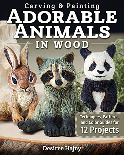 Compare Textbook Prices for Carving & Painting Adorable Animals in Wood: Techniques, Patterns, and Color Guides for 12 Projects Fox Chapel Publishing Templates, Hair Tracts, & Painting Tips for Shelf Sitters; Wolf, Fox, & More First Edition ISBN 9781497100831 by Desiree Hajny