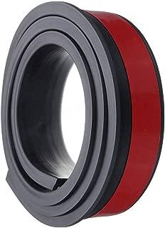 ZXMOTO Car Trucks Wheel Fender Mudguard Extension Flares Protector 3M Rubber Moulding Strip Trim 2X 4.9ft, Black