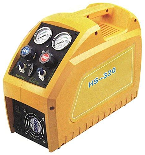 Absauggerät HS-320 / JS-320 17kg/h 114kg/h Anschluss 1/4' SAE mit Schnellkupplung mit Kugelhahn 17kg alle Kältemittel 0-49°C