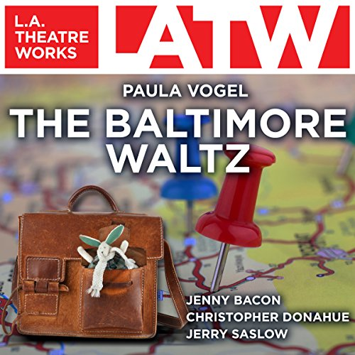 The Baltimore Waltz audiobook cover art