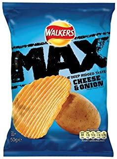 Walkers Max Cheese and Onion 50 g (Pack of 32) (B003S3RJG4) | Amazon price tracker / tracking, Amazon price history charts, Amazon price watches, Amazon price drop alerts
