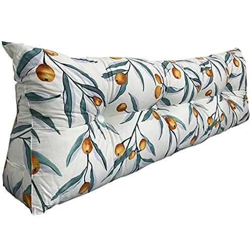 Cojín Triangular Respaldo de Cama Tridimensional Bolsa Suave Almohada de Lectura Almohada de Lectura Respaldo Grande sofá, Dormitorio, Tatami Disponible