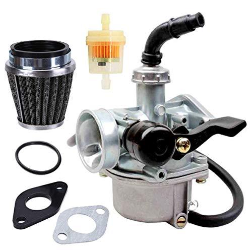 New PZ19 ATV Carburetor + 35mm Air Filter for 50cc 70cc 80cc 90cc 110cc 125cc ATV Dirt Pit Bike Go Kart Pocket Bike Taotao Honda CRF