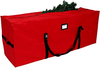 OurWarm Christmas Tree Storage Bag Extra Large Heavy Duty Storage Containers with Reinforced Handles Zipper for 8ft Artificial Tree, 50