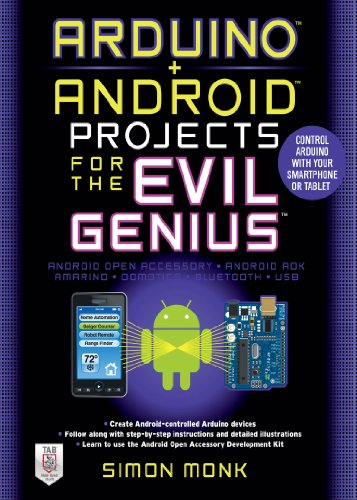 Arduino + Android Projects for the Evil Genius: Control Arduino with Your Smartphone or Tablet (English Edition)