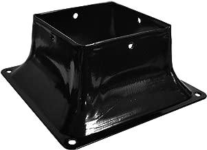 Pylex 13048 44 Post Base Black - 10 Pack