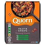 Quorn Vegan Fajita Tiras 280G | Congelada | Sin Carne (Pack de 1)
