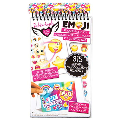 Fashion Angels Coussin Sticker-Folio Kit