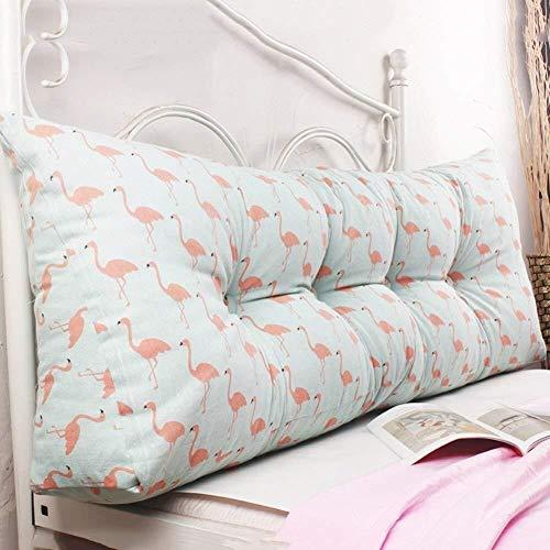 B-fengliu Doppelkeil Lesen Kissen Dreieck Ergonomische orthopädische Lesekissen for Sofa-Bett-Kissen Wedge Stützkissen Weiches Kissen for Erwachsene Removable (Color : D, Size : 120×45×20cm)