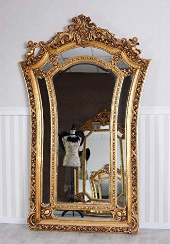 XXL Spiegel Rokoko Standspiegel Ganzkörperspiegel Engel Spiegel Barock Wandspiegel cat225a Palazzo...