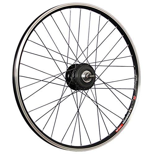 Taylor-Wheels 26 Zoll Hinterrad Laufrad DT Swiss 535 / Shimano Alfine Nabe - schwarz