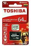 東芝 EXCERIA M302 64GB UHS-I microSDXCカード 4K U3対応 海外パッケージ THN-M302R0640A2 [並行輸入品]