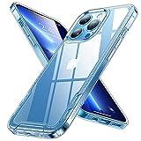 Humixx für iPhone 13 Pro Hülle Vergilbungsfrei (Super Klar) Stoßfeste Unzerstörbare Schutzhülle...