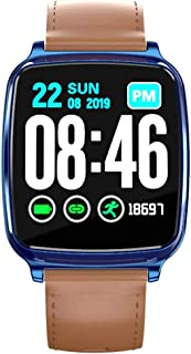 $23 » Smart Watches for Men Android, YEZIJIN M8 Heart Rate Blood Pressure Sleep Monitoring SmartWatch Pedometer Tracker for Father Men Student Youth Teens Boyfriend Lover's Birthday