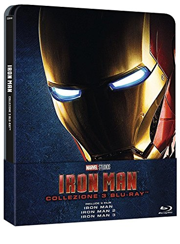 iron Man Trilogy Steelbook iron man/iron man 2 steelbook/iron man 3 Steelbook/Exclusive Limited Edition Steelbook Blu-ray Region free