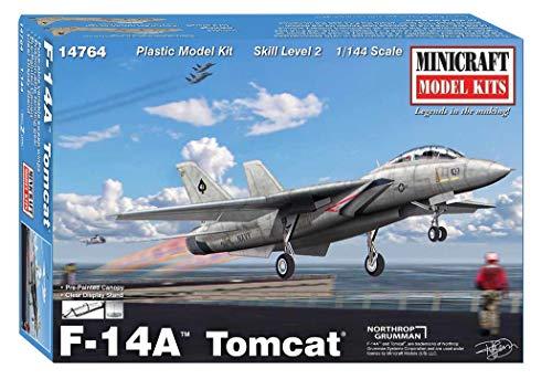 ミニクラフト 1/144 アメリカ海軍 F-14A トムキャット プラモデル MC14764