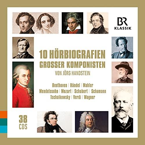 10 Hörbiografien grosser Komponisten [38 CDs]