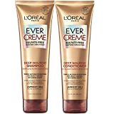 L'Oréal Paris EverCreme Shampoo & Conditioner Kit for Dry Hair, 8.5 Ounce, Set of 2