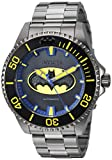 Invicta Men's DC Comics Automatic-self-Wind Watch with Stainless-Steel Strap, Grey, 20.9 (Model: 26901)