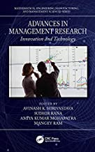 Advances in Management Research: Innovation and Technology (Mathematical Engineering, Manufacturing, and Management Sciences) (English Edition)