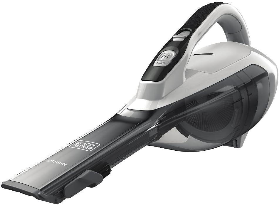 BLACK+DECKER dustbuster Handheld Excellent Vacuum White Max 43% OFF Powder Cordless