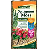 Sun Bulb Company Inc 50430 BetterGro Sphagnum Moss Growing Medium 240 Grams