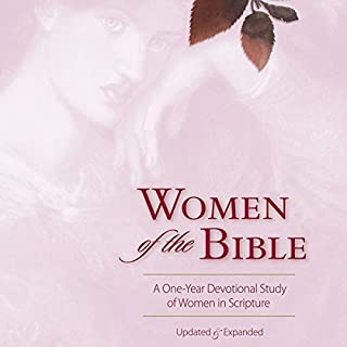 Women of the Bible     A One-Year Devotional Study of Women in Scripture              By:                                                                                                                                 Ann Spangler,                                                                                        Jean E. Syswerda                               Narrated by:                                                                                                                                 Sarah Rutan                      Length: 13 hrs and 29 mins     9 ratings     Overall 4.6