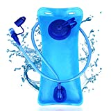 SKL Hydration Bladder,Upgraded PEVA Hydration Backpack, BPA Free Leakproof Water Reservoir for Cycling