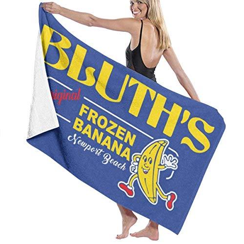 ENZOOIHUI Arrested Development Bluths Original Frozen Banana, Gorra de Camionero Toalla de baño Toalla de Playa 80X130 Cm