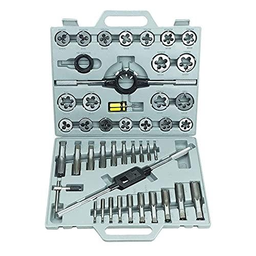 ACXIN Juego de terrajas de rosca, 45 piezas, juego de herramientas para cortar roscas (45 piezas)