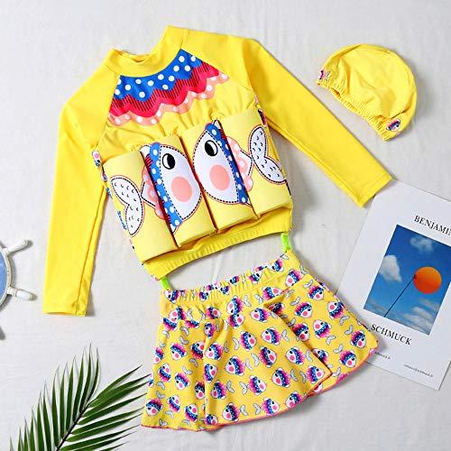 nobrand Baby One-Piece schwimmende Badeanzug Sicherheit Float Badebekleidung Badeanzug Kleinkind Mädchen Badeanzug