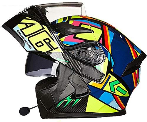NFJ Integral-Helm · Full-Face Motorrad-Helm Roller-Helm Scooter-Helm,Motorrad-Helm,Klapp-Helm Modular-Helm Flip-up Integral-Helm Motorrad-Helm Roller-Helm Full-Face Scooter-Helm,Style4-L
