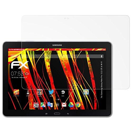atFolix Schutzfolie kompatibel mit Samsung Galaxy Note Pro 12.2 LTE und Wi-Fi Bildschirmschutzfolie, HD-Entspiegelung FX Folie (2X)