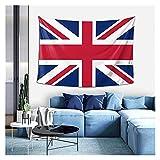 YWJFASHION Tapiz Bandera británica Art Tapices de Pared para Colgar en la Pared, para Dormitorio, Sala de Estar, Dormitorio Universitario, decoración