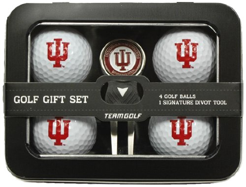 Lowest Prices! Team Golf NCAA Michigan State Spartans Regulation Size Golf Balls (4 Count) & Divot T...