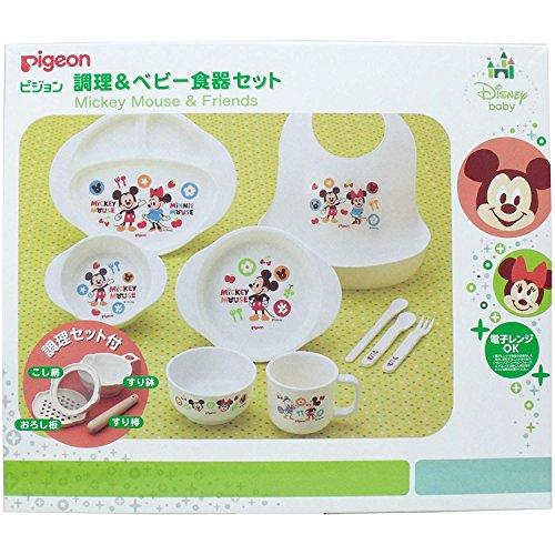 PIGEON Cuisine et Arts de la Table bébé Mickey & Friends D2
