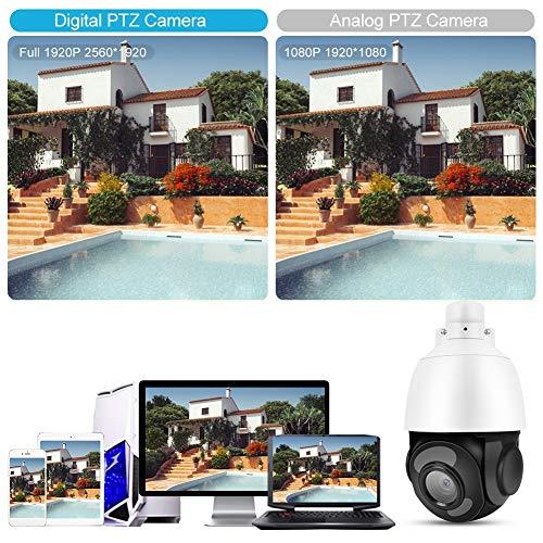 Cámara con Zoom de Domo, cámara con Zoom, rotación Horizontal de 360 ° Zoom óptico de 30X para(100-240V European Standard, Transl)