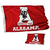 College Flags & Banners Co. Alabama Crimson Tide Vintage Double Sided Flag