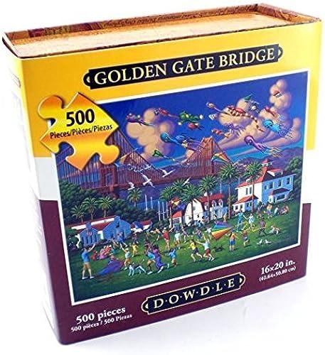 Golden Gate 500 Piece Dowdle Folk Art Puzzle by Dowdle Folk Art