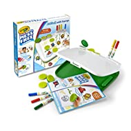 Crayola Color Wonder Mess Free Art Desk with Stamps, Kids Indoor Activities At Home, Over 20 Pieces, Gift