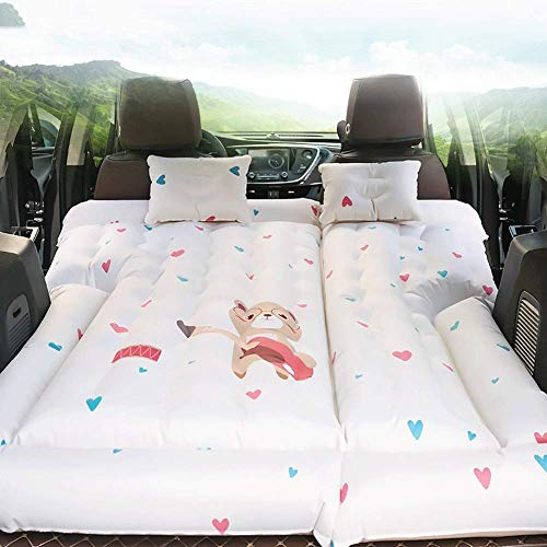 WCY SUV Car Travel Materasso Gonfiabile, Car Middle Row Fare L'Amore e Il Sonno Materassino, Protable Esterna Auto-Guida Pad Bed Tour Gonfiabile yqaae