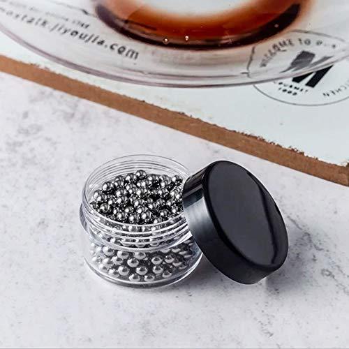 Jarchii Dekanter-Reinigungsball, einfach zu verwendende, langlebige, Wiederverwendbare Reinigungsperlen, Küchenzubehör für zu Hause