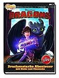 Dragons. Drachenstarke Abenteuer mit Hicks und Ohnezahn: Buch mit DVD