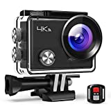 APEMAN Action Cam 4K WiFi Camera 16MP - Ultra Full HD Unterwasser Kamera Helmkamera Wasserdicht mit...