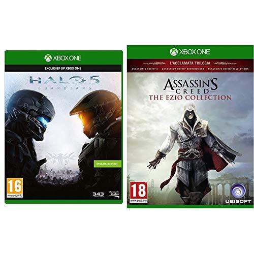Microsoft Halo 5: Guardians Xbox One [Edizione: Regno Unito] & UBI Soft Assassin's Creed The Ezio Collection HD Xbox One