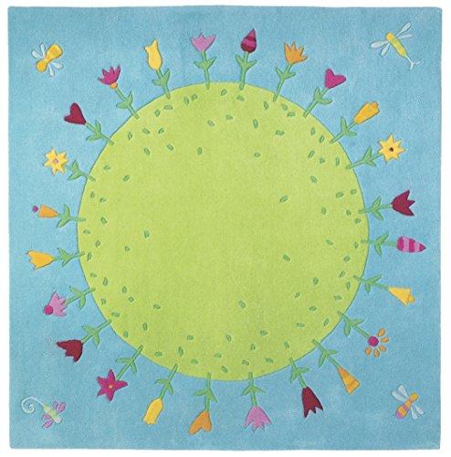 HABA- Décoration - Tapis Planète Fleurie, 2973