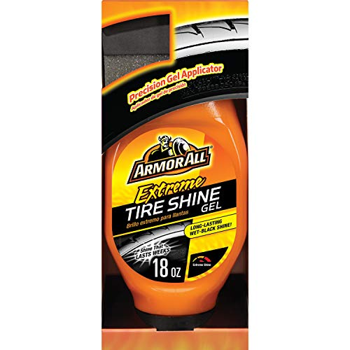 Armor All Car Tire and Wheel Shine Gel, Cleaner for Cars, Truck and Motorcycle, 18 Fl Oz, 9938