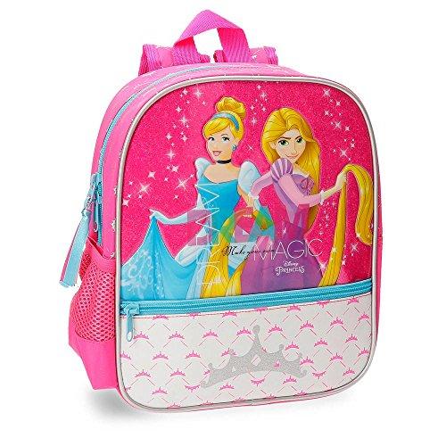 Disney Princesas Princess Mochila Preescolar Rosa 23x28x10 cms Poliéster 6.44L